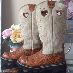 Ariat Genuine leather boots Sz 8